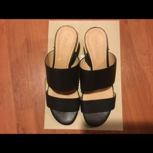 MADEWELL LEATHER BANDED MULE SANDAL